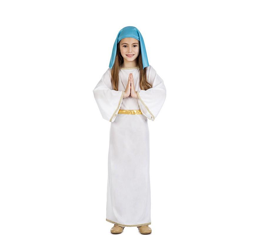 Disfraz de virgen mar a para ni a - Disfraces de angel para nina ...