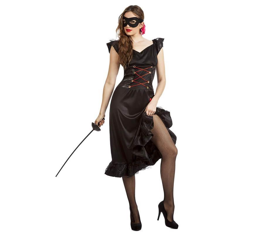 disfraz mujer zorro