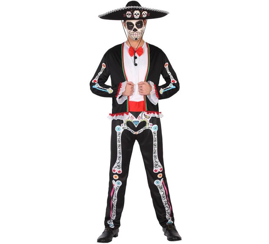 Disfraz del Día de los muertos para hombre 0413b6829c1