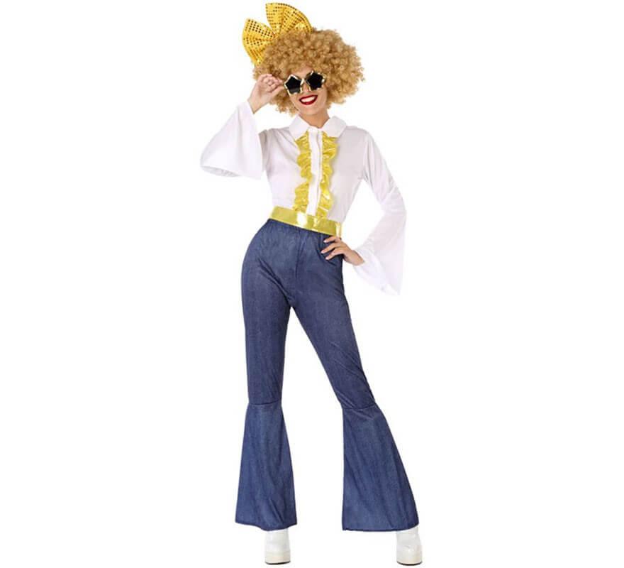 Excelente calidad estilo limitado diseño de variedad Disfraz Disco Años 80 para mujer