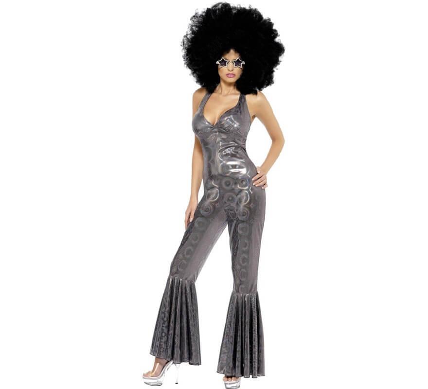 Disco Los Plateado 70 Mujer Para Diva De Disfraz qtdTwt
