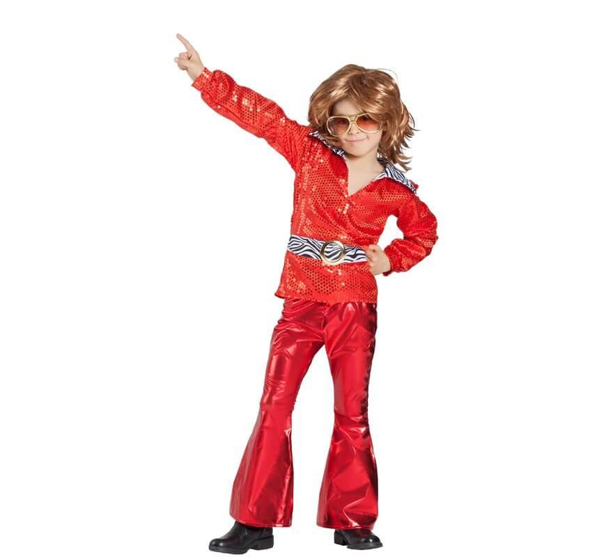 Disfraz Disco Rojo para niño