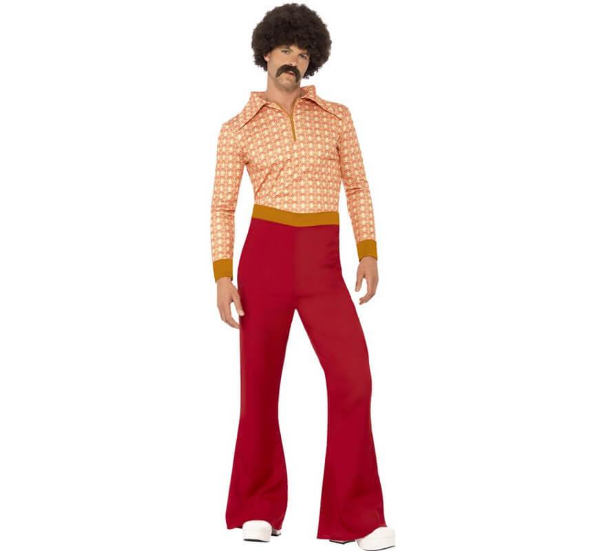 Disfraz Disco Vintage de los 70 para hombre