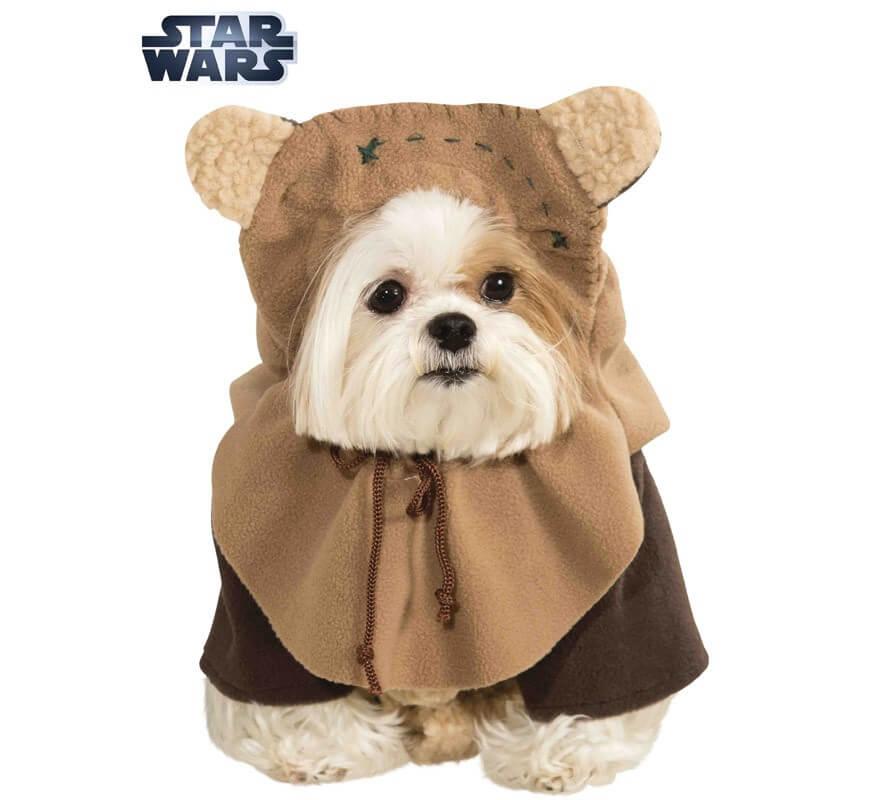 Disfraz Ewok de Star Wars para perro
