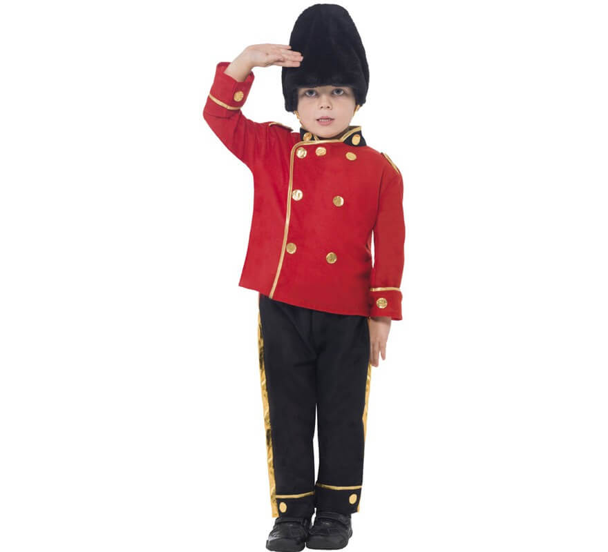6666511be Disfraz Guardia Real Inglesa para Niño