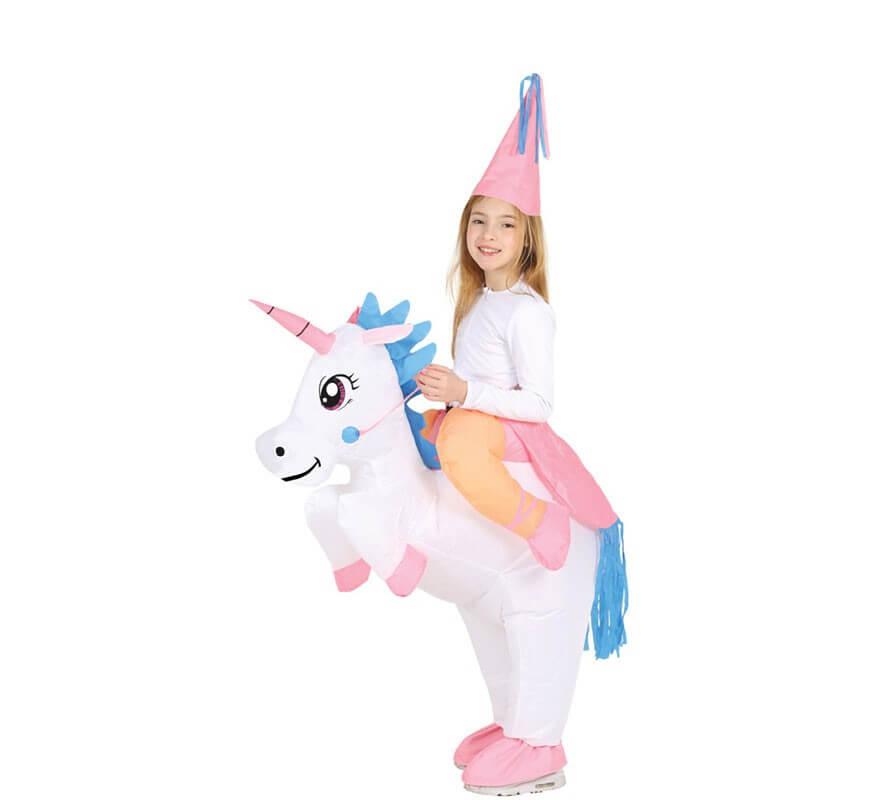 sette colori Natale carnevale Costume gonfiabile da unicorno per feste FunClothing Halloween