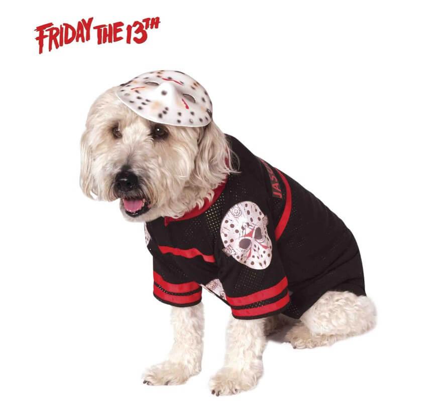 Disfraz Jason de Viernes 13 para perro