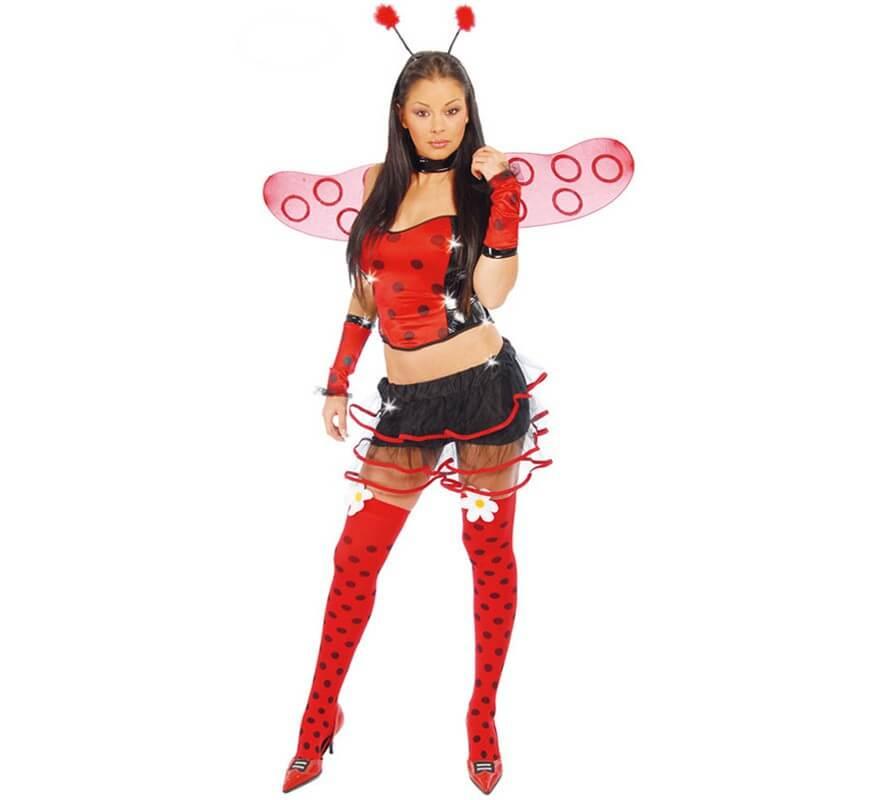 72eaedc3a1a4 Costume super sexy coccinella per donna in carnevale