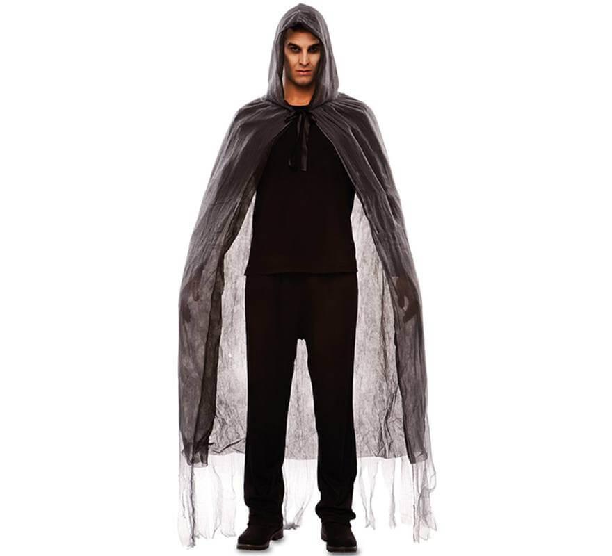 manto hombre Disfraz para siniestro o mnONw80yv