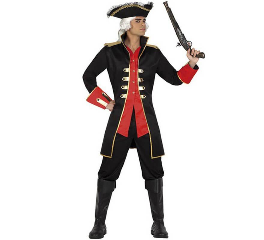 Abrigo disfraz pirata