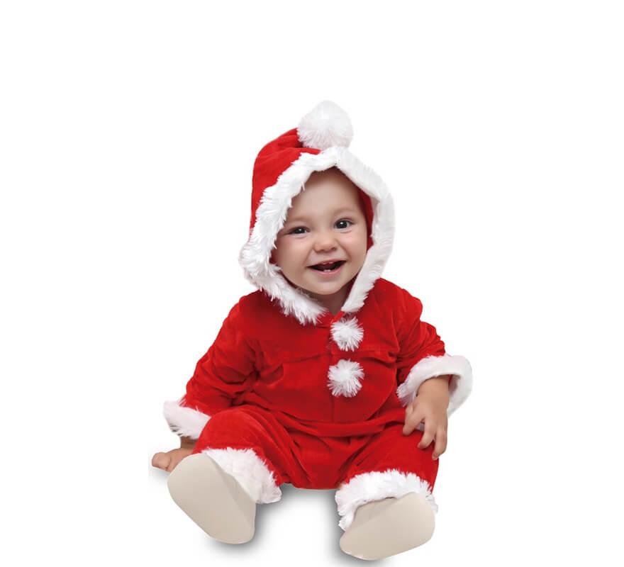 Disfraz O Mono De Papa Noel Para Bebe - Disfraces-papa-noel-bebe
