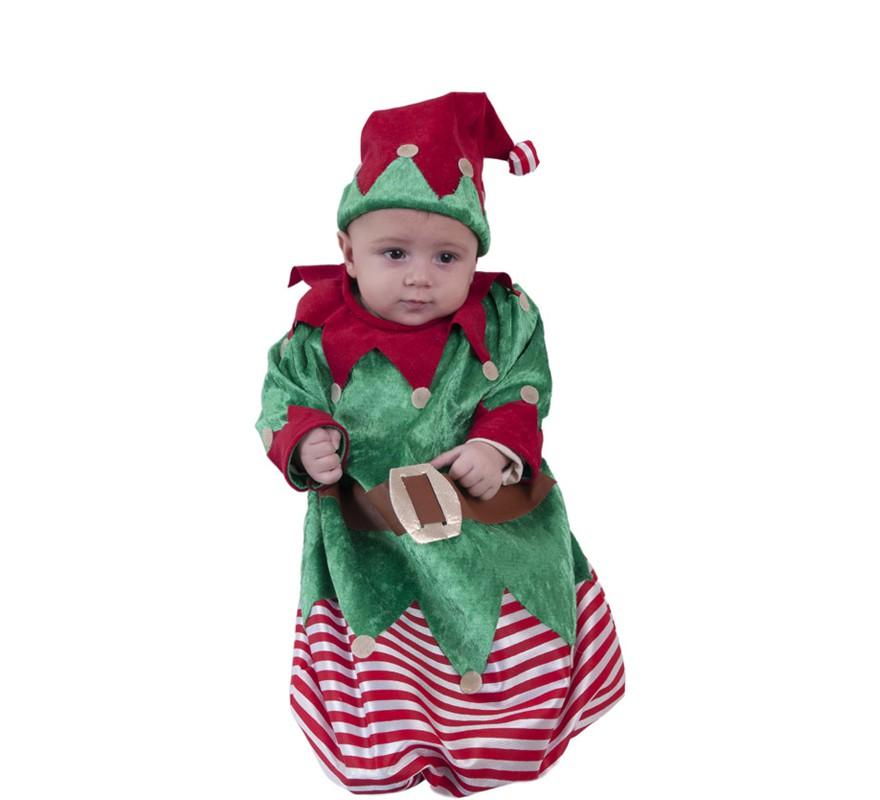 Disfraz o saquito de elfo para beb s - Disfraz para bebes ...