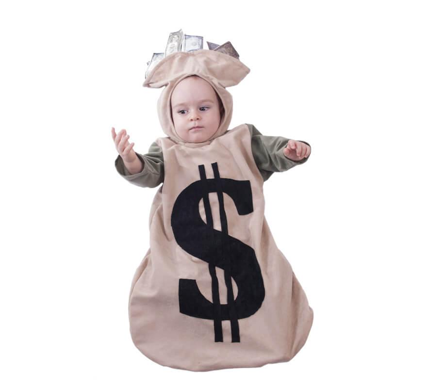 Disfraz o saquito del dinero para beb s - Disfraz para bebes ...