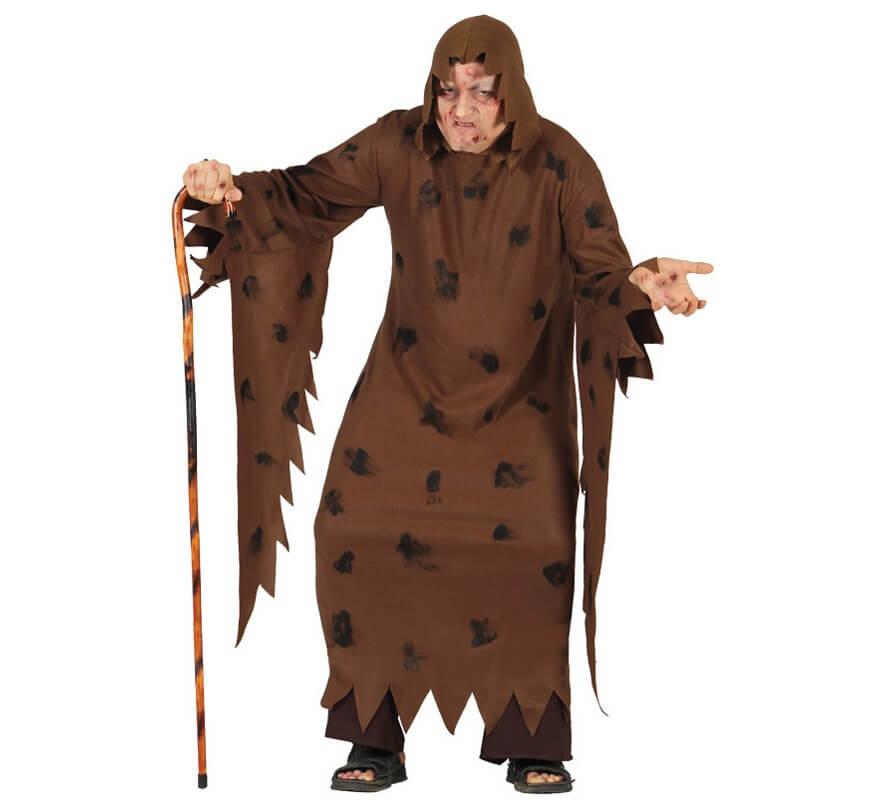 Disfraz para hombre de Leproso Jorobado para Halloween