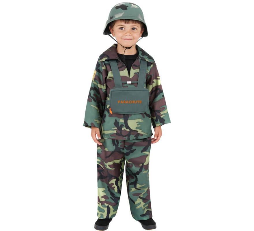 Soldado Niño Disfraz Para Paracaidista OkZ8wn0NPX