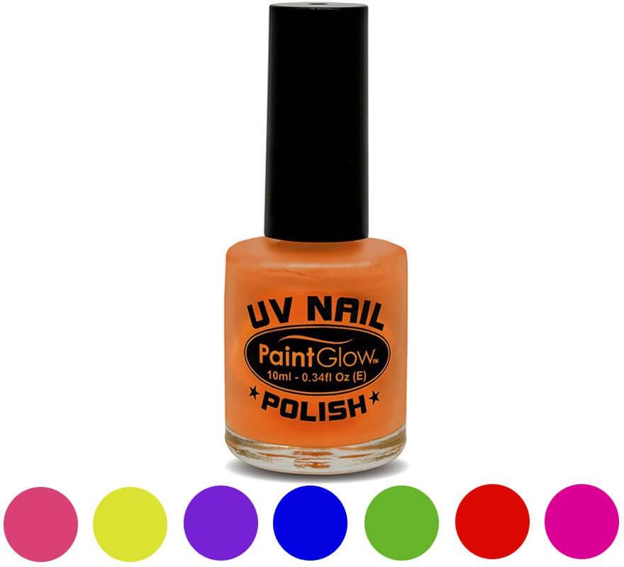 Esmalte de uñas de 12 ml en varios colores fluorescentes