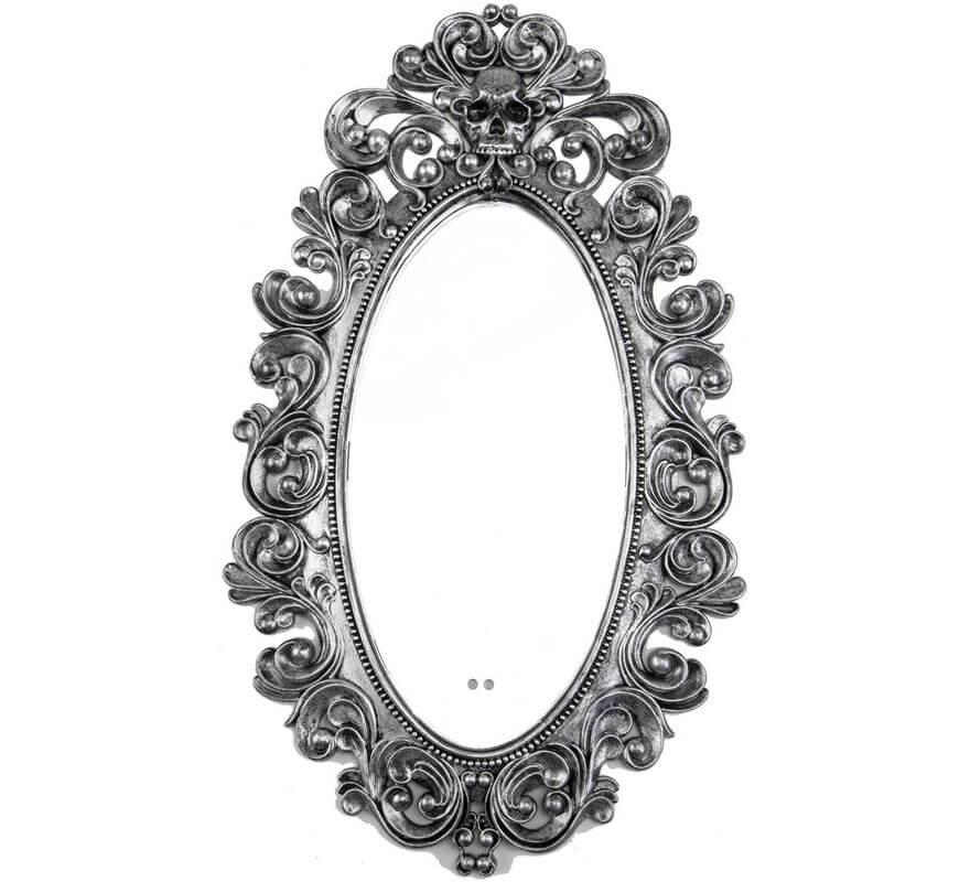Miroir ancien grand 45x75 cm - Espejo veneciano antiguo ...
