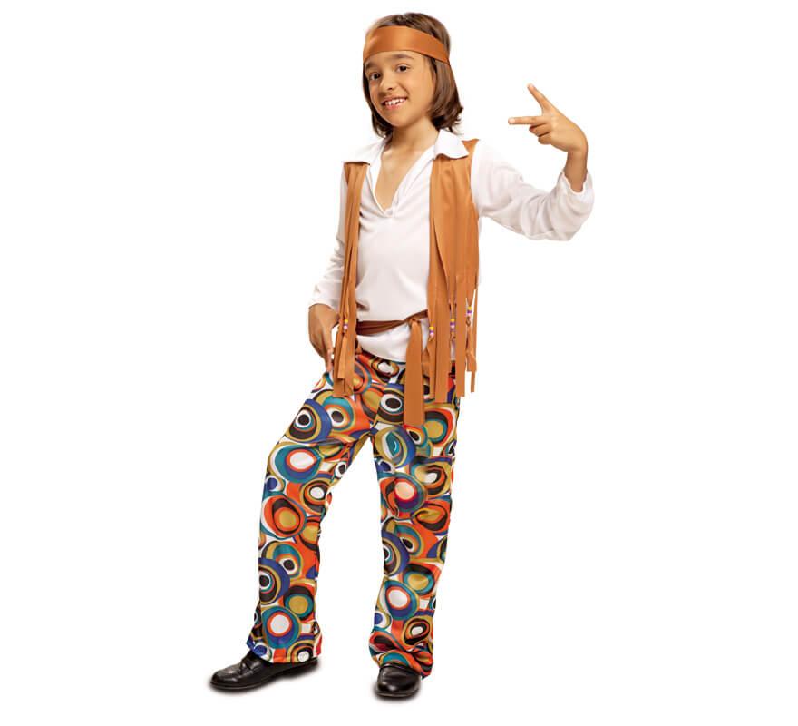 58b966b0e80 Disfraz de Hippie para Niño