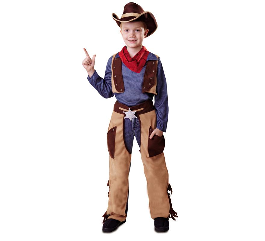 8197edba24b62 Disfraz de Cowboy o Vaquero para Niño
