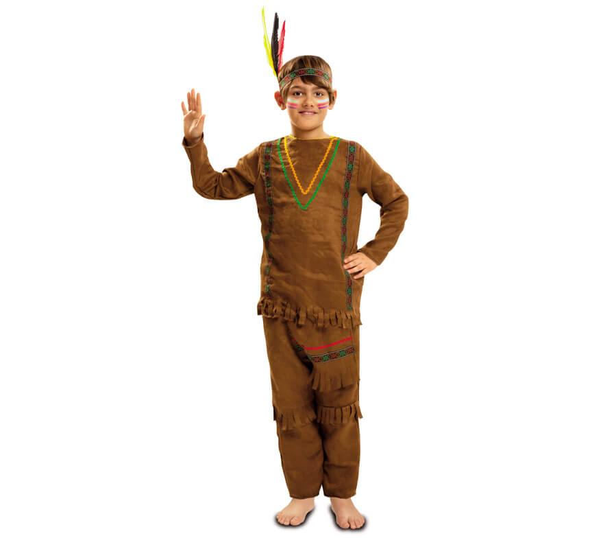 d784230513bb6 Disfraz de Indio con Pantalones para Niño