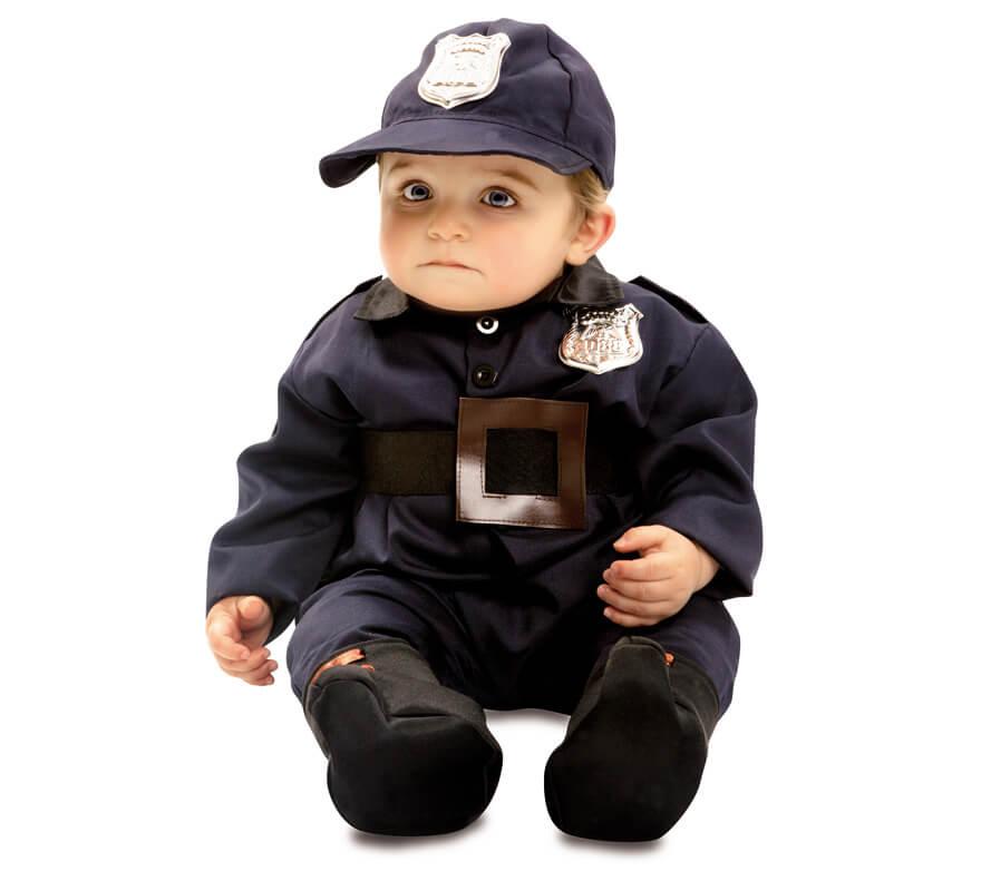 Disfraz de polic a para beb s - Disfraz de navidad para bebes ...