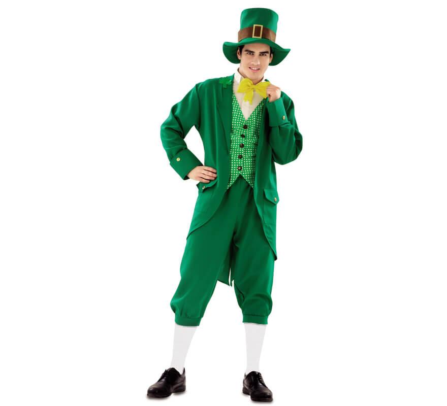 Disfraz de irland s para hombre talla m l - Traje de duende para nino ...
