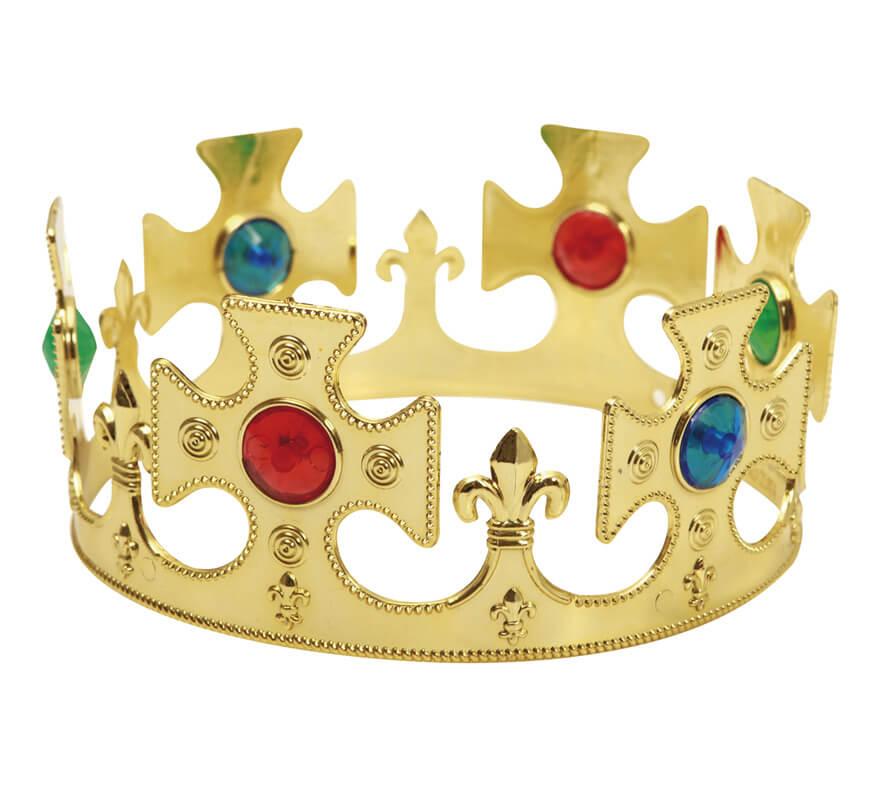 Corona De Rey Color Oro