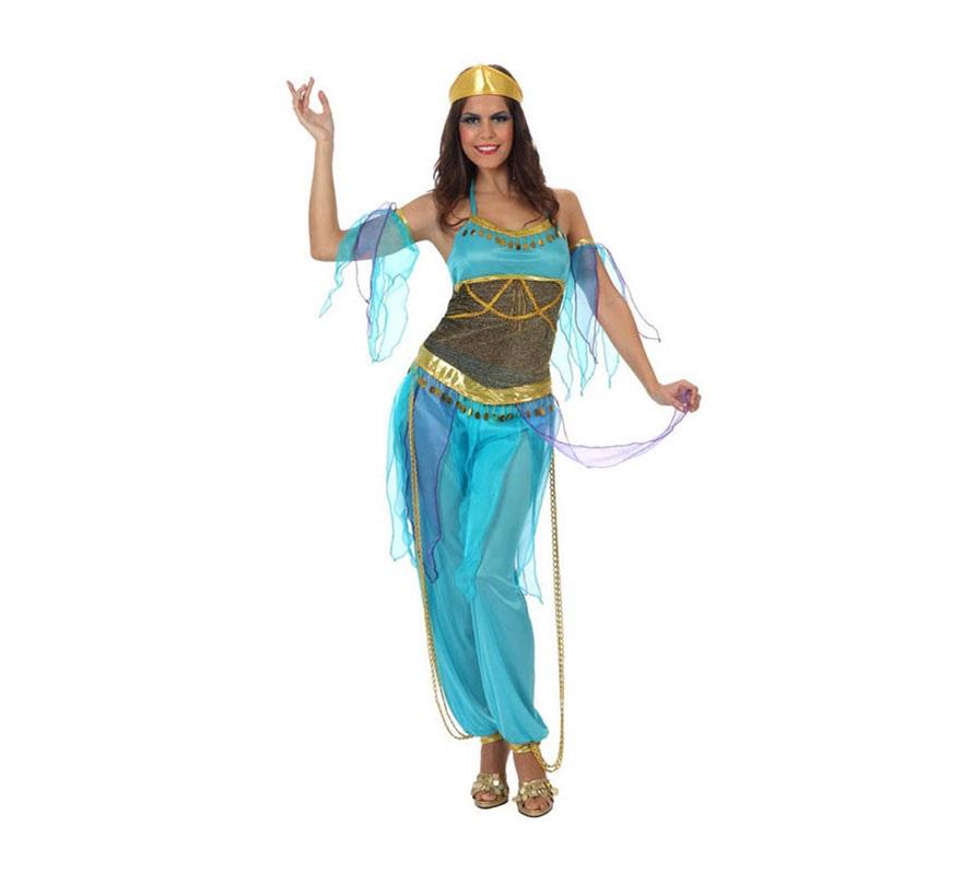 disfraz mujer arabe