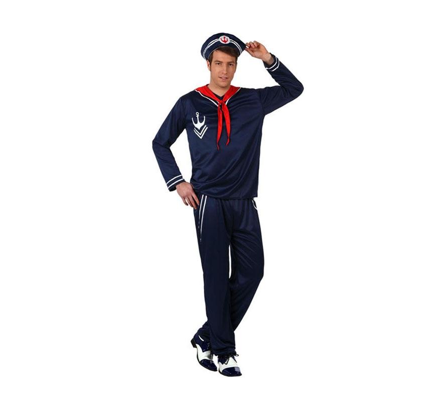 Disfraz de marinero para hombres - Disfraz de marinero casero ...