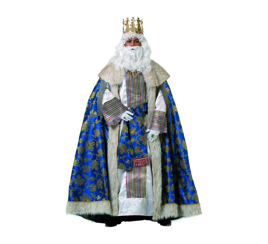 Traje o Disfraz de Rey Mago Melchor adulto de alta Calidad
