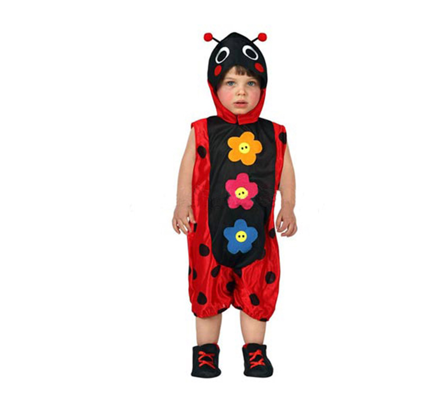 Disfraz de mariquita para beb s talla 6 a 12 meses - Disfraz de mariquita bebe ...