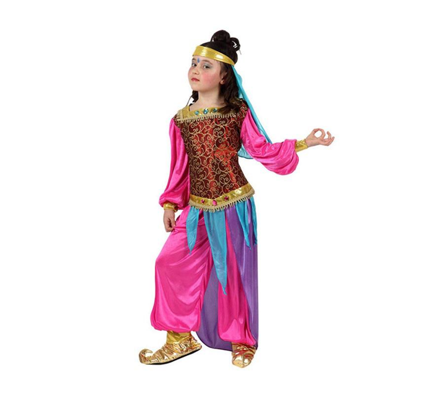 d guisement danseuse orientale rose pour enfants plusieurs tailles. Black Bedroom Furniture Sets. Home Design Ideas