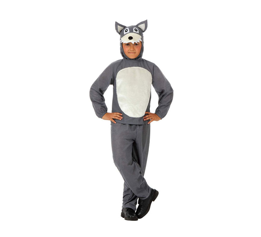 Disfraz de Lobo Feroz para nios