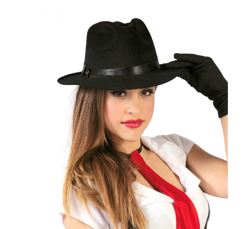 Gorros y Sombreros para Disfraces de Gánsters y Mafiosos d78de772d48