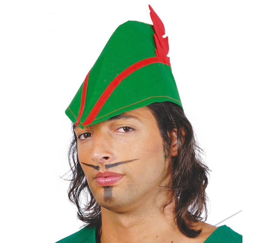 323dea0a6c953 Sombrero de Robin Hood de tela
