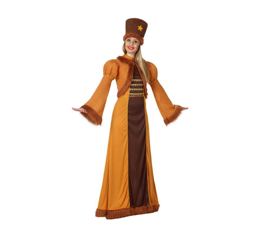 disfraz zarina mujer