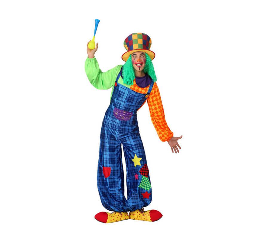 Disfraz de Payaso colores para hombres 3a8a42cb9cd9
