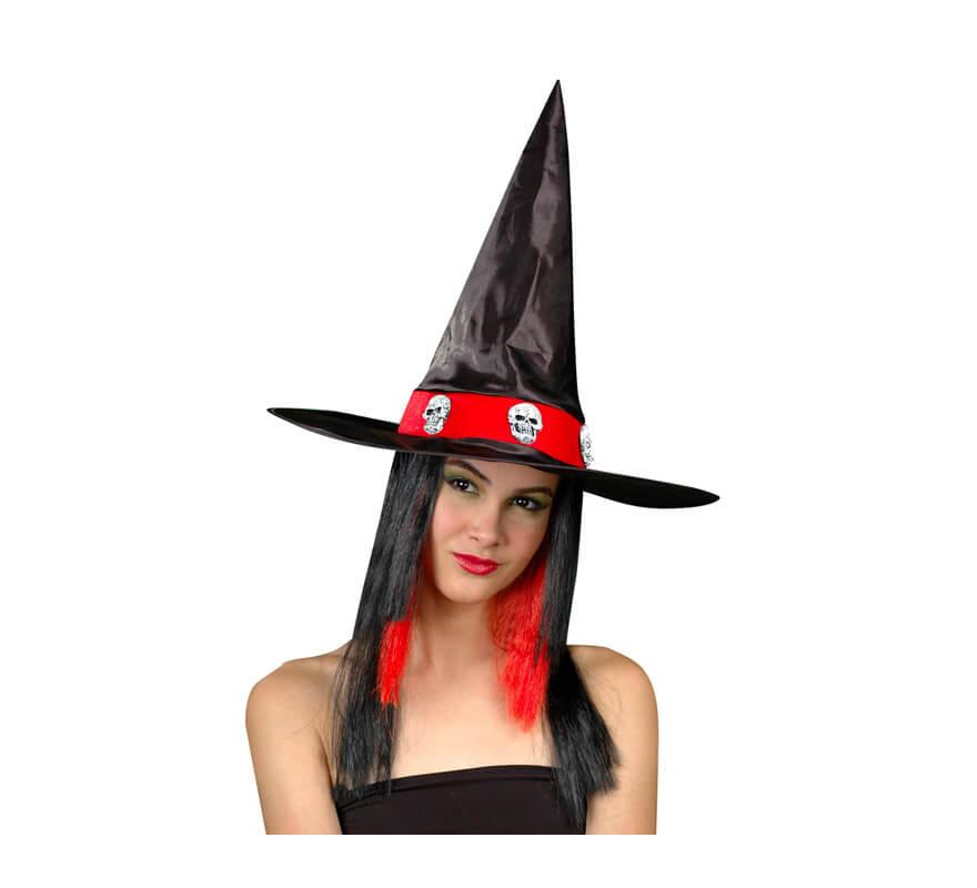 Sombrero de Bruja con peluca para Halloween 08422562158562 af8cd09cfe0