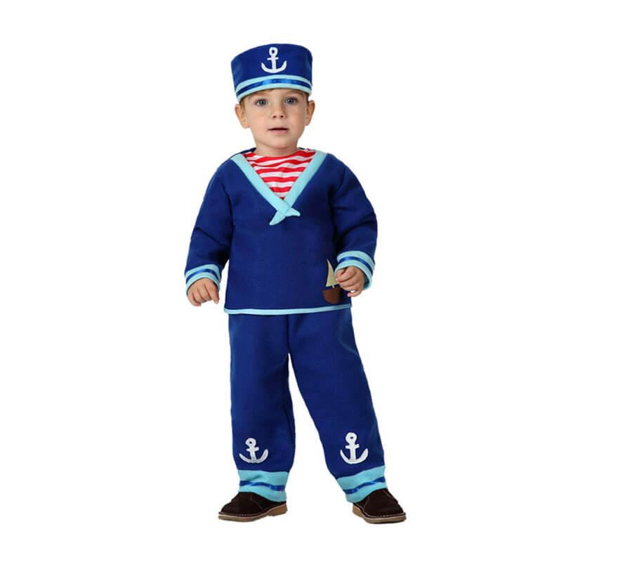 Disfraz de marinero con ancla para beb s - Disfraz de marinero casero ...