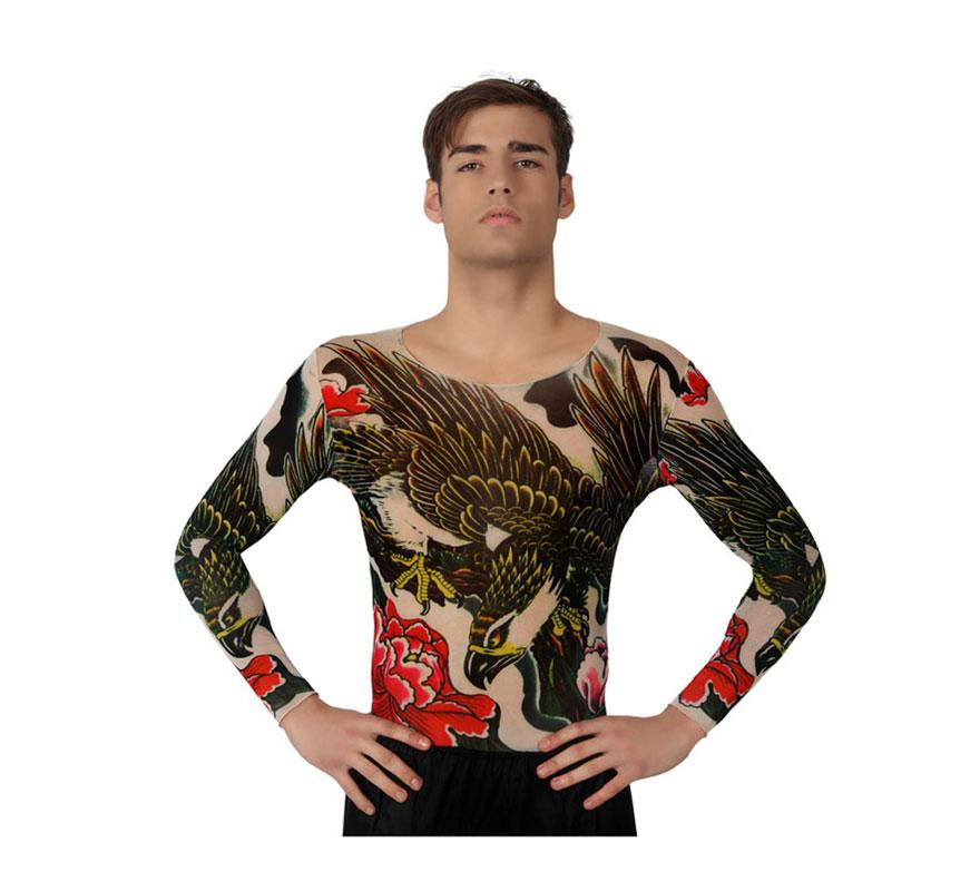 Camisa con tatuaje de Águila