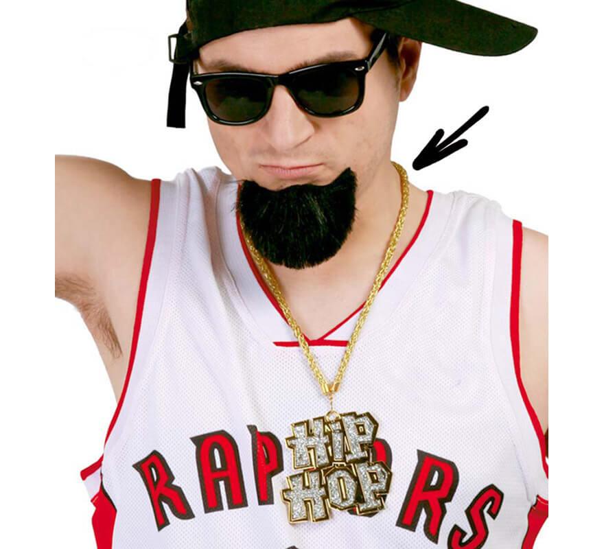 Collar Hip-Hop con cadena imitación oro