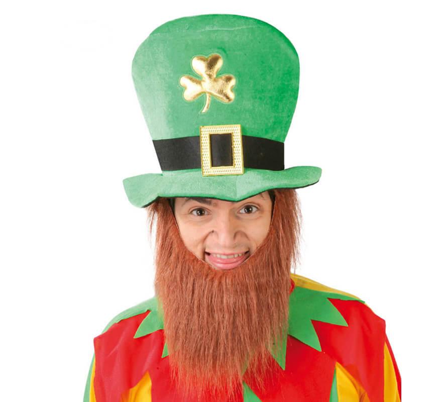 Patrizio Irlanda Adulti Costume Cappello Da Uomo Costume S Irlandese LEPRECHAUN