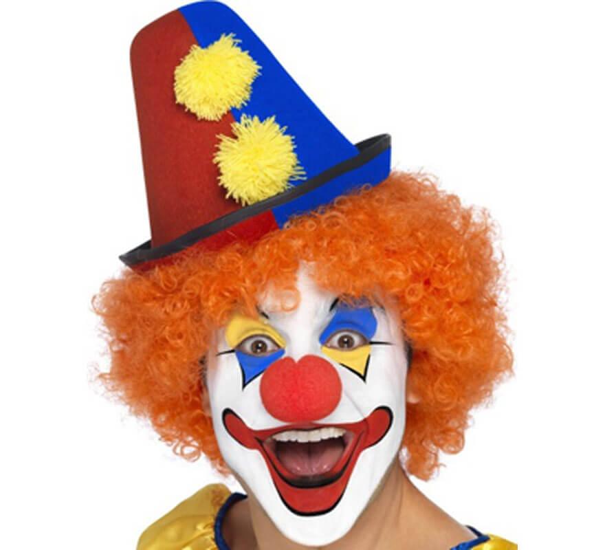 e92755e7379 Chapeau de Clown avec des pompons