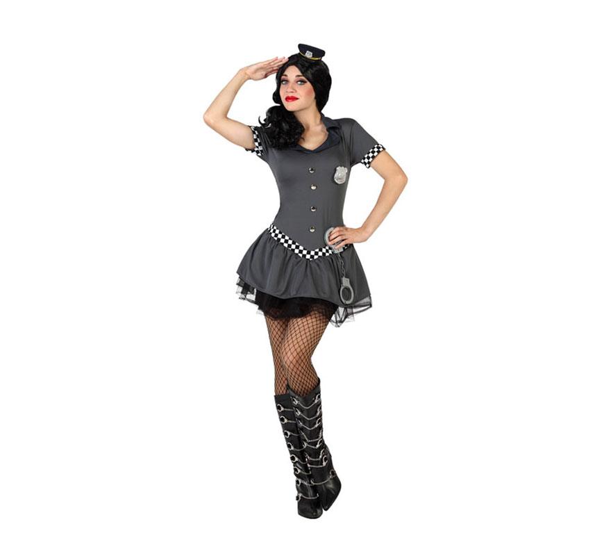 Disfraz para mujer de Policía Tutú sexy 1b3c96b5798