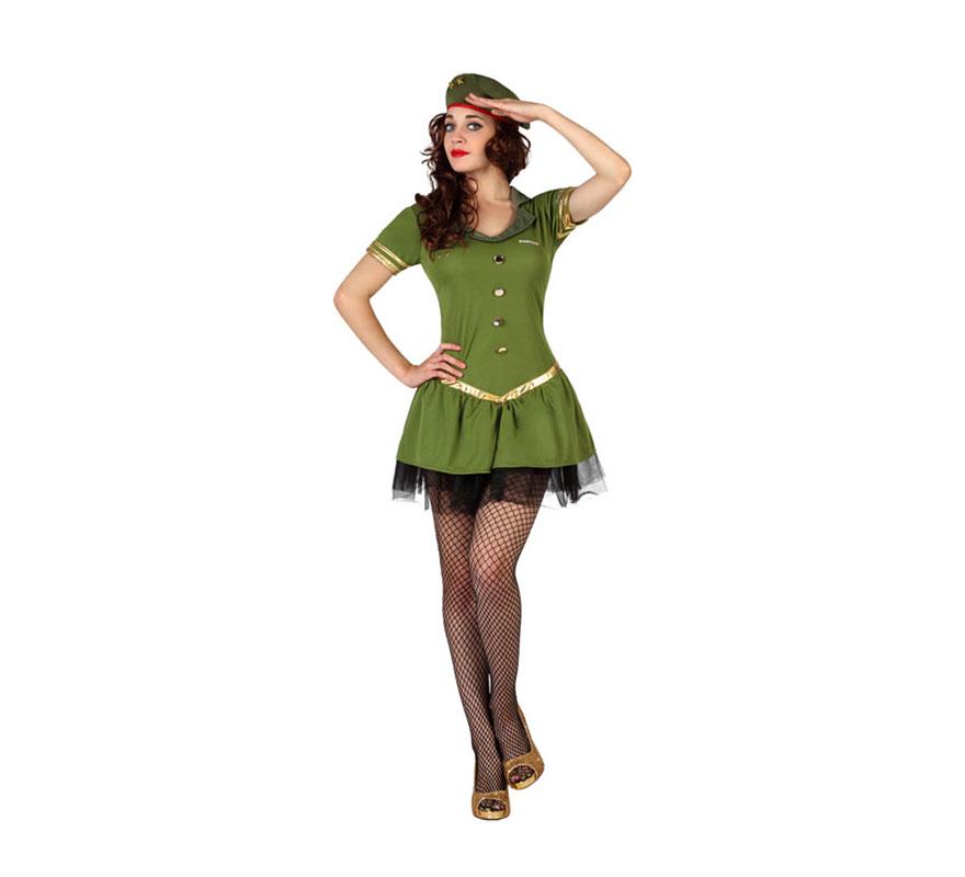 Vestidos militares para mujer