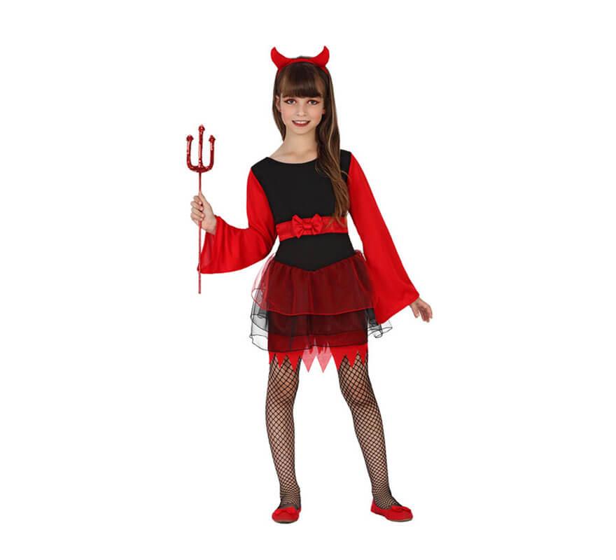 Disfraces de Demonia y Diablesa para Nia Disfraz Halloween