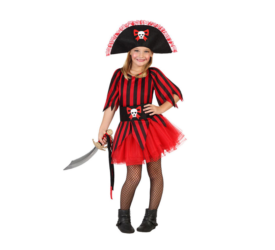 para niñas de Pirata tutú