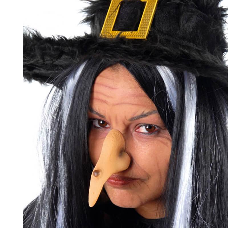 Nariz De Bruja Para Halloween - Maquillaje-bruja-para-nia