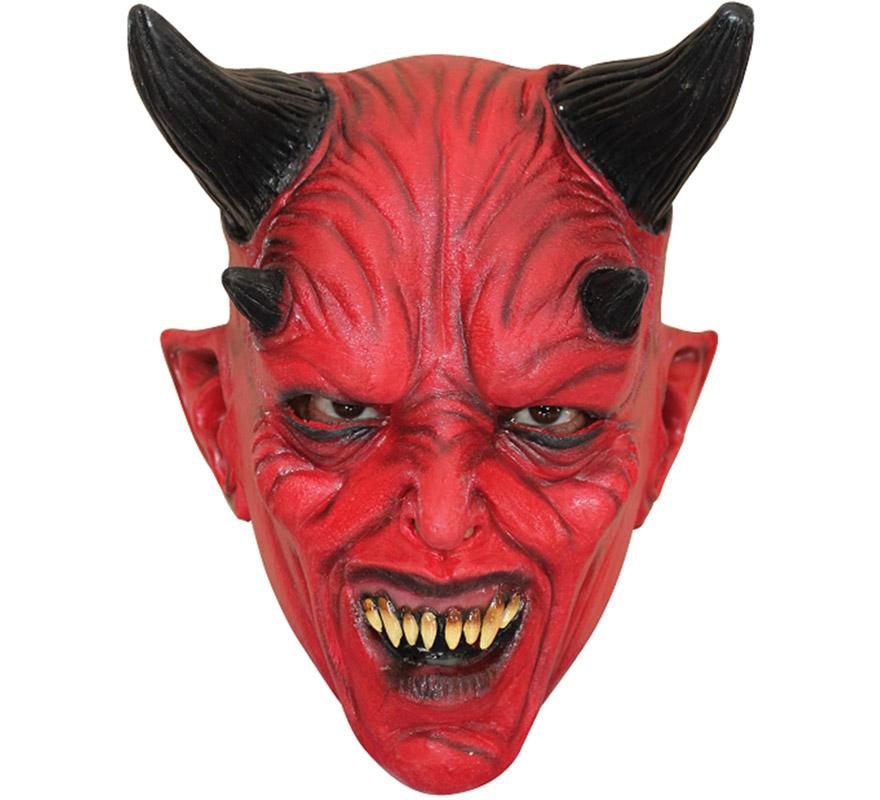 Máscara Devil Diablo Niño para Halloween (T.Universal)