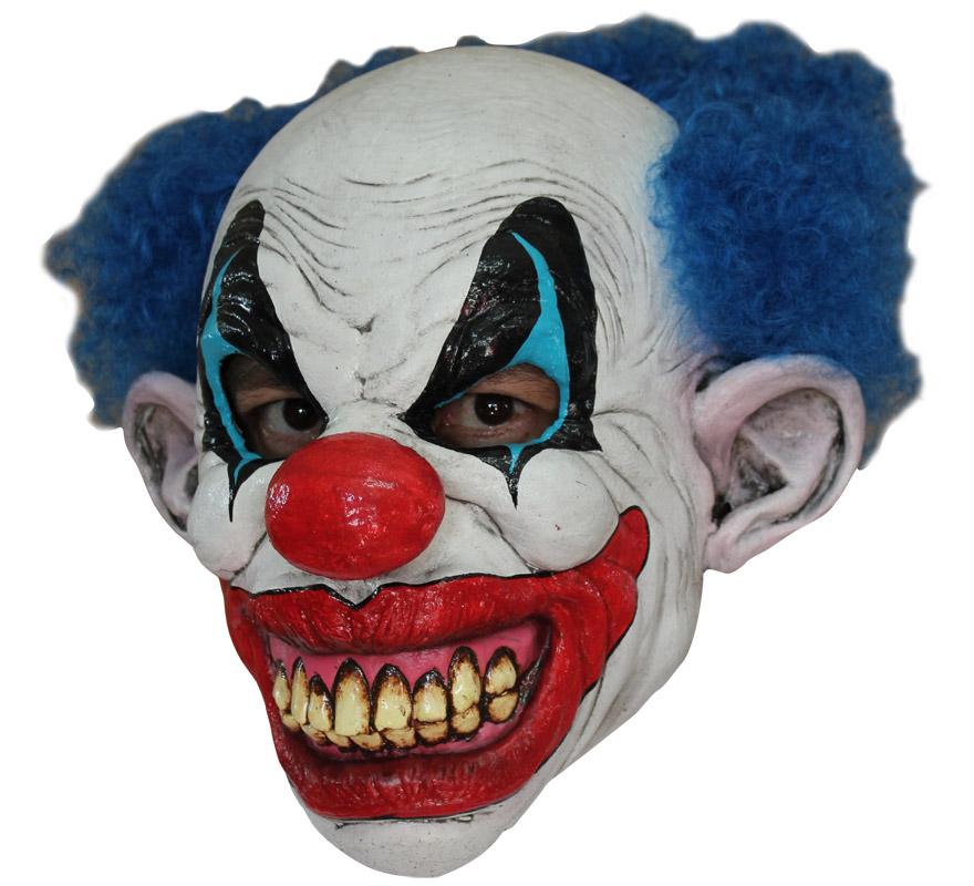 Mascaras Para Para Disfraces De Payasos Circo Arlequines Y Bufones - Mascaras-de-halloween-de-terror
